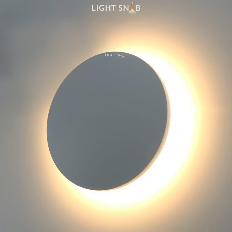 Настенный светодиодный светильник Talp размер M цвет серый