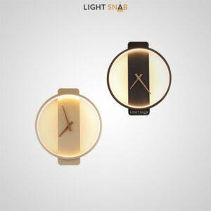 Настенный светильник-часы Time