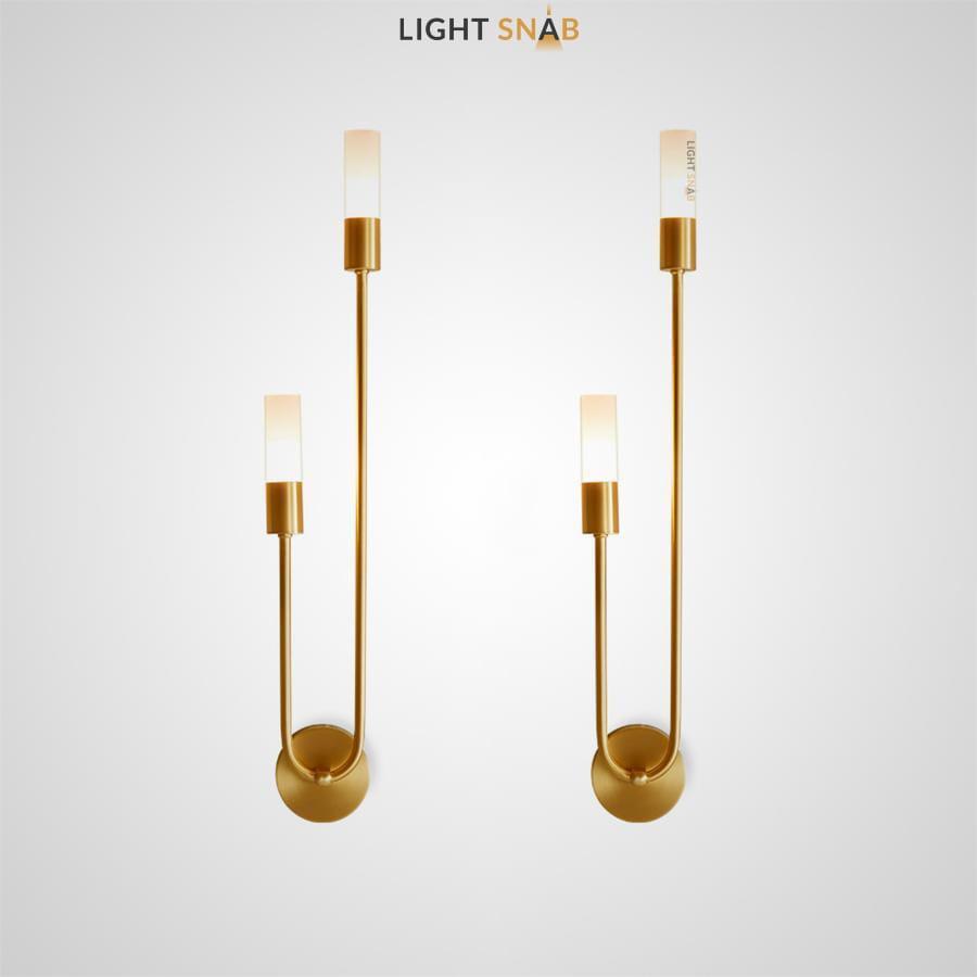 Настенный светильник Trim с цилиндрическими плафонами