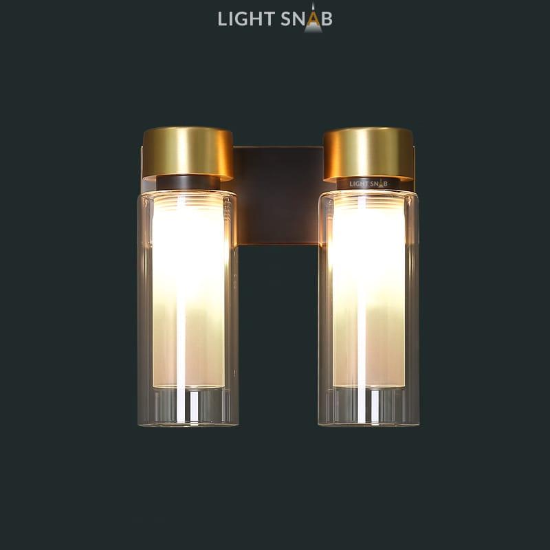 Настенный светильник Verge Wall 2 лампы