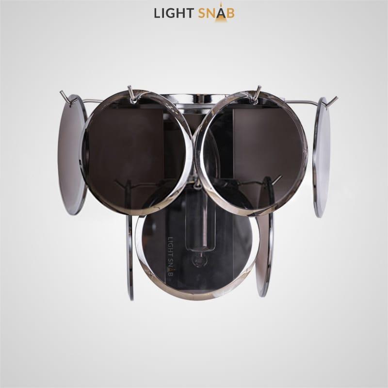 Настенный светильник Verle B Wall цвет дымчатый