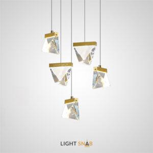 Подвесной светодиодный светильник Aldis