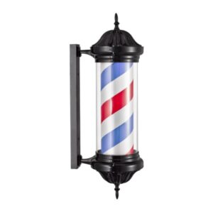 Светильник Барбер пол (barber pole) (чёрный)