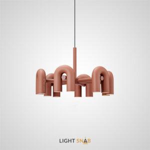 Дизайнерская светодиодная люстра Fanny