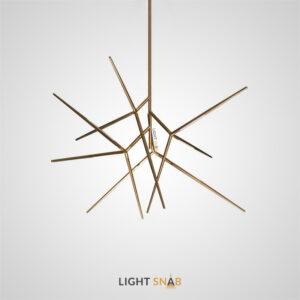 Дизайнерская светодиодная люстра Flask