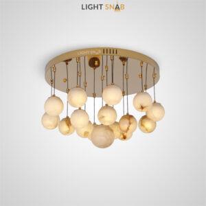 Дизайнерский светодиодный светильник Marble Ball