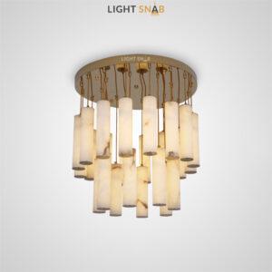 Дизайнерский светодиодный светильник Marble Gold