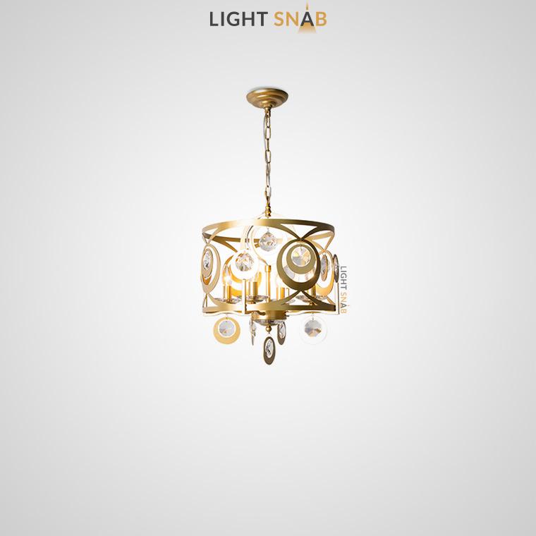 Дизайнерская люстра Aden 4 лампы