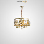 Дизайнерская люстра Aden 6 ламп