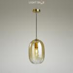 Подвесной светильник Aevg One цвет янтарный