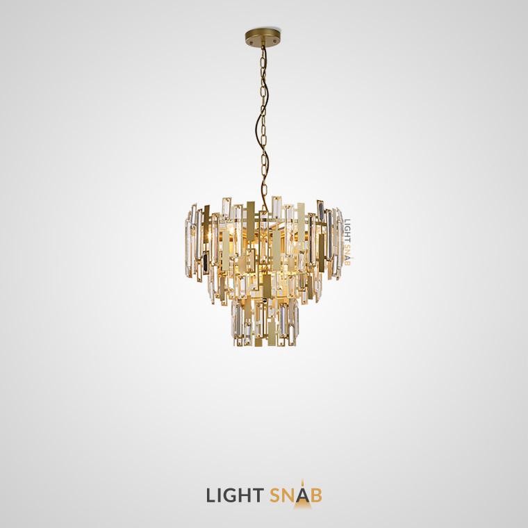 Дизайнерская люстра Agra 9 ламп модель B