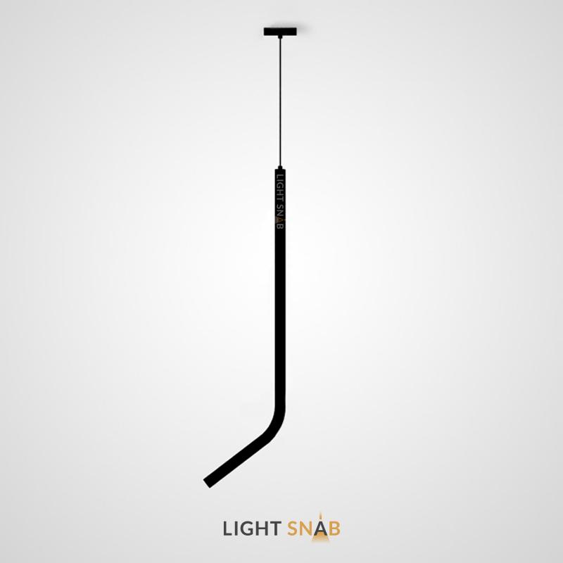 Подвесной светодиодный светильник Aia тип A. Цвет матовый черный