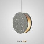 Дизайнерский подвесной светильник Akvilon размер S