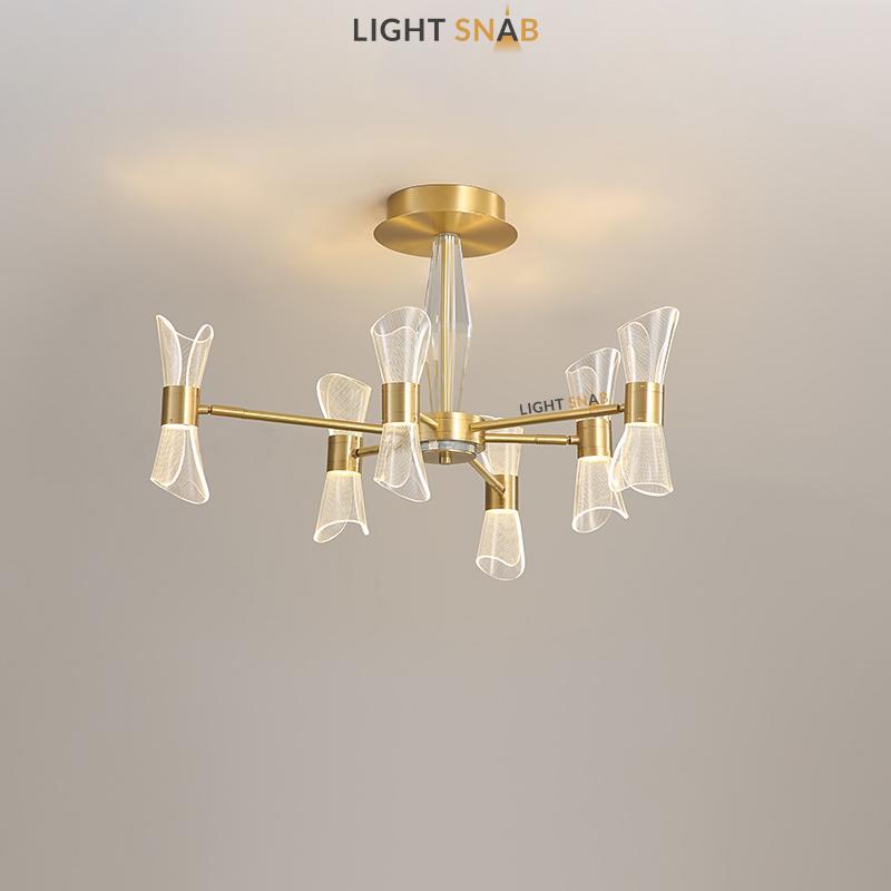 Светодиодная люстра Albina 6 ламп