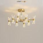 Светодиодная люстра Albina 8 ламп