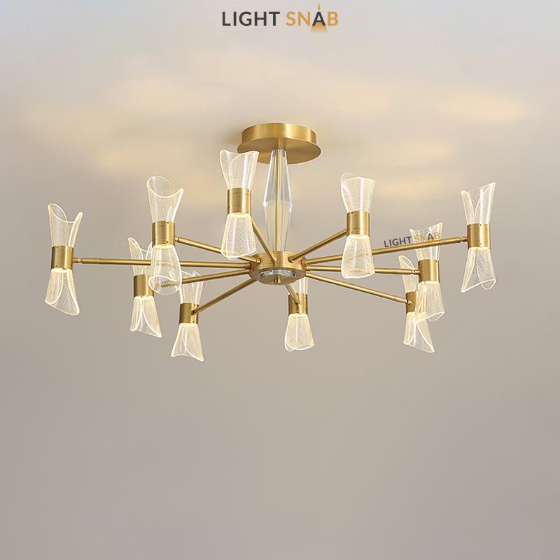 Светодиодная люстра Albina 10 ламп