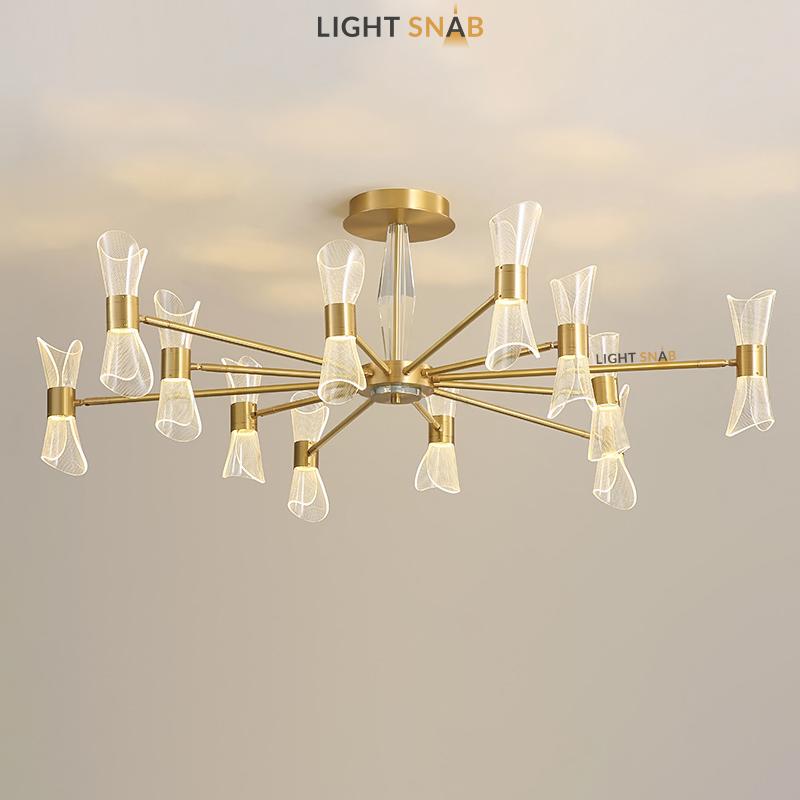 Светодиодная люстра Albina 12 ламп