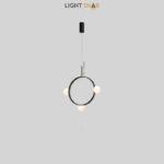 Подвесной светильник Arcanum Ring 3 лампы цвет черный