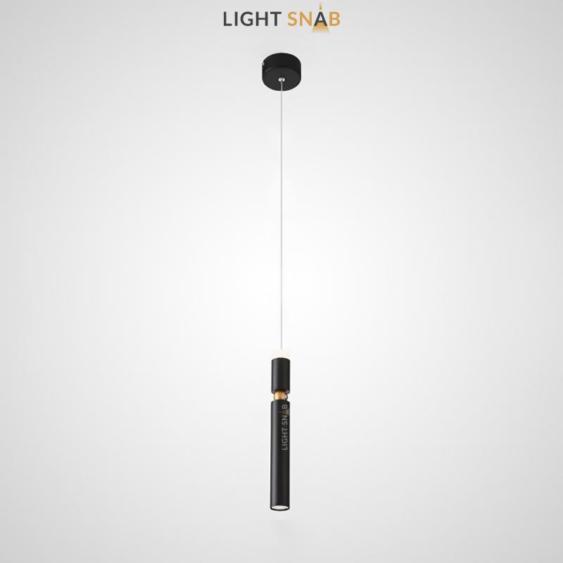 Подвесной светильник Atamy цвет черный