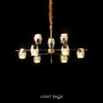 Светодиодная люстра Bentina 9 ламп