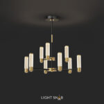 Люстра Berenica 9 ламп трехцветный свет