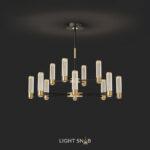 Люстра Berenica 12 ламп трехцветный свет