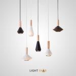 Подвесной светильник Bulb  с металлическим плафоном геометрической формы