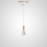 Подвесной светильник Bulb модель A цвет белый