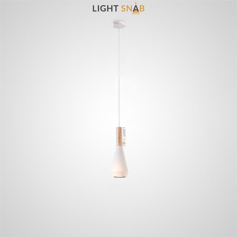Подвесной светильник Bulb модель B цвет белый