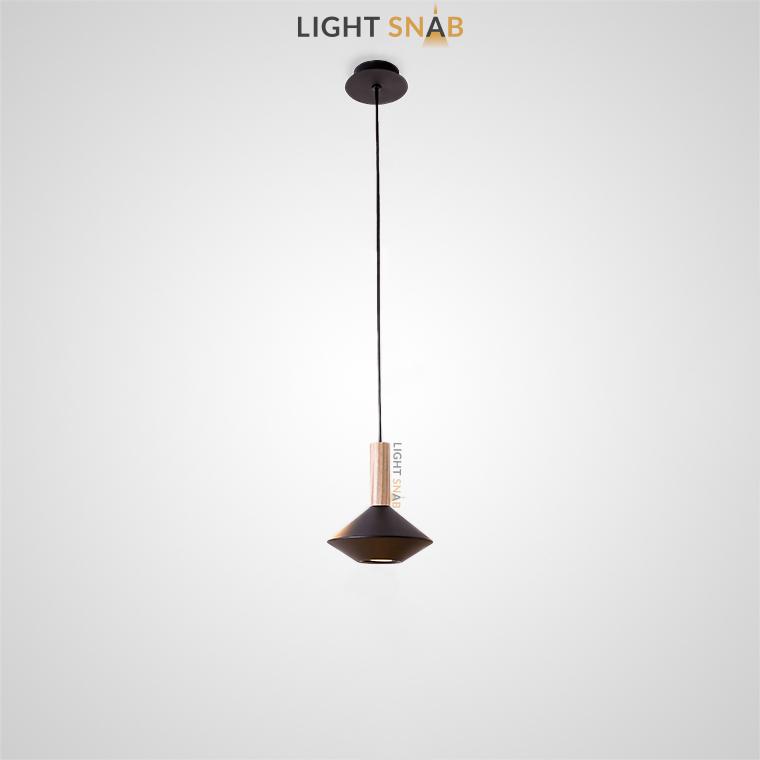 Подвесной светильник Bulb модель C цвет черный