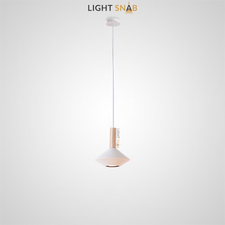 Подвесной светильник Bulb модель C цвет белый