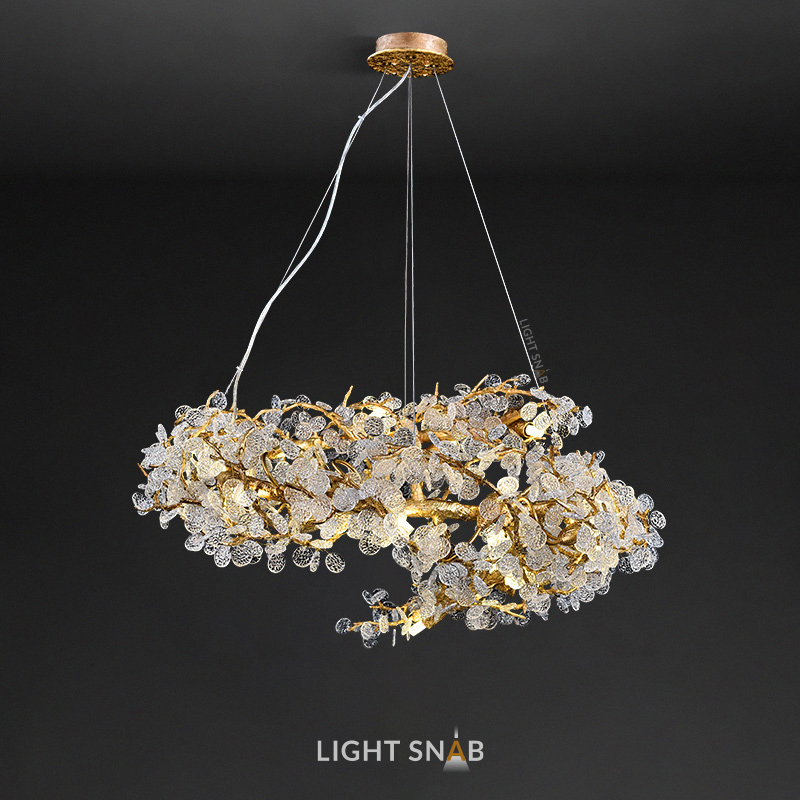 Дизайнерская люстра Caramelly тип D. 22 лампы