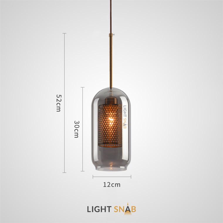 Подвесной светильник Catch Smoky модель B
