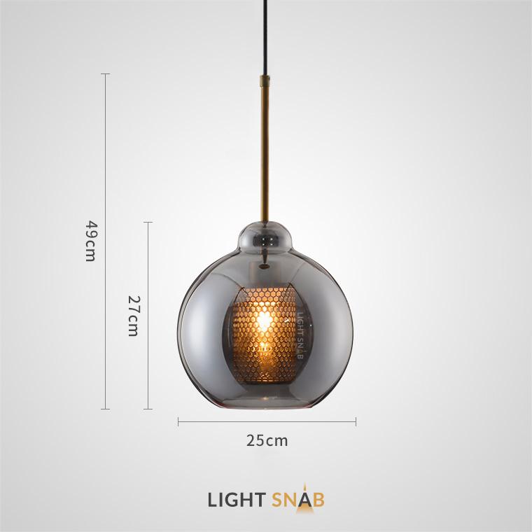 Подвесной светильник Catch Smoky модель C