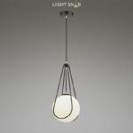 Подвесной светильник Chasil One черный + серебро