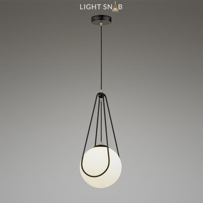 Подвесной светильник Chasil One черный + золото