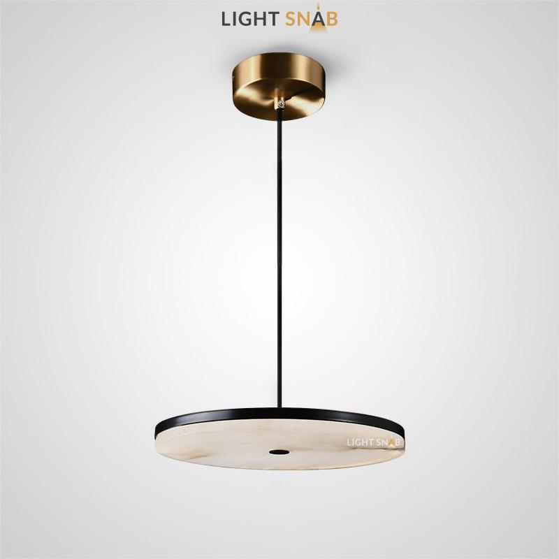 Дизайнерский светодиодный светильник Coal размер M