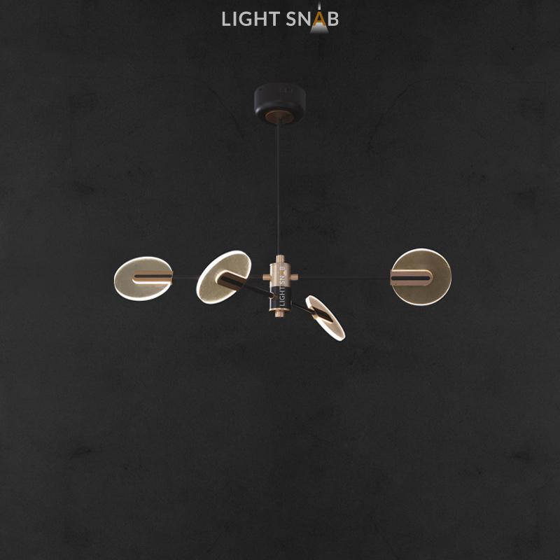 Светодиодная люстра Connect 4 лампы
