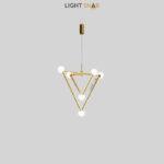 Подвесной светильник Duchess 6 ламп цвет латунь белый свет