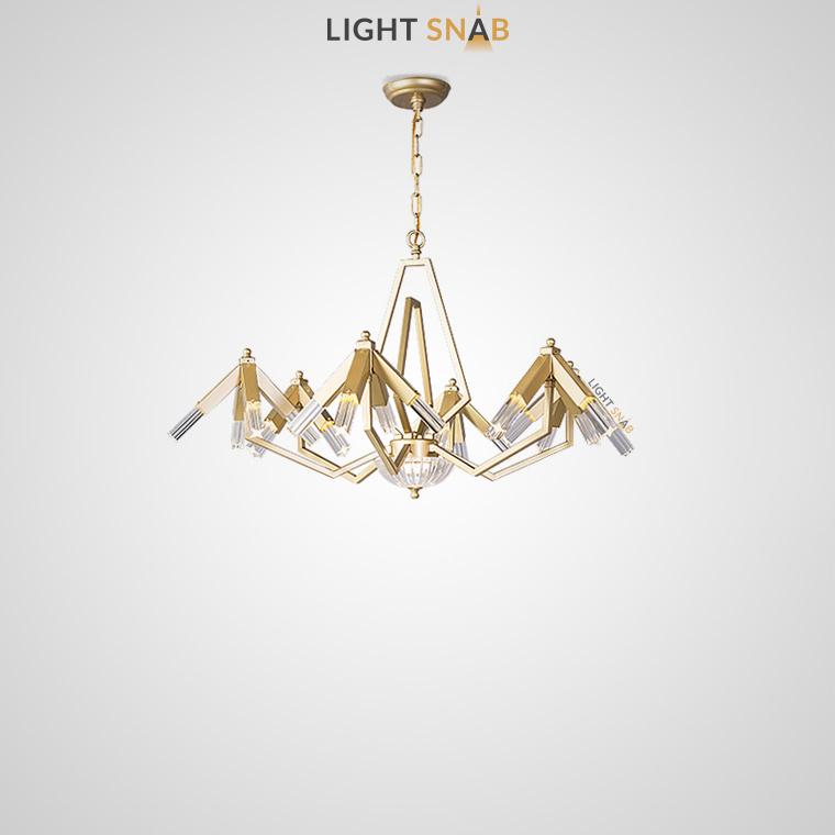 Дизайнерская люстра Elton 24 лампы (6 рожков)