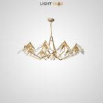 Дизайнерская люстра Elton 40 ламп (10 рожков)