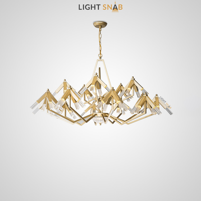 Дизайнерская люстра Elton 60 ламп (15 рожков)