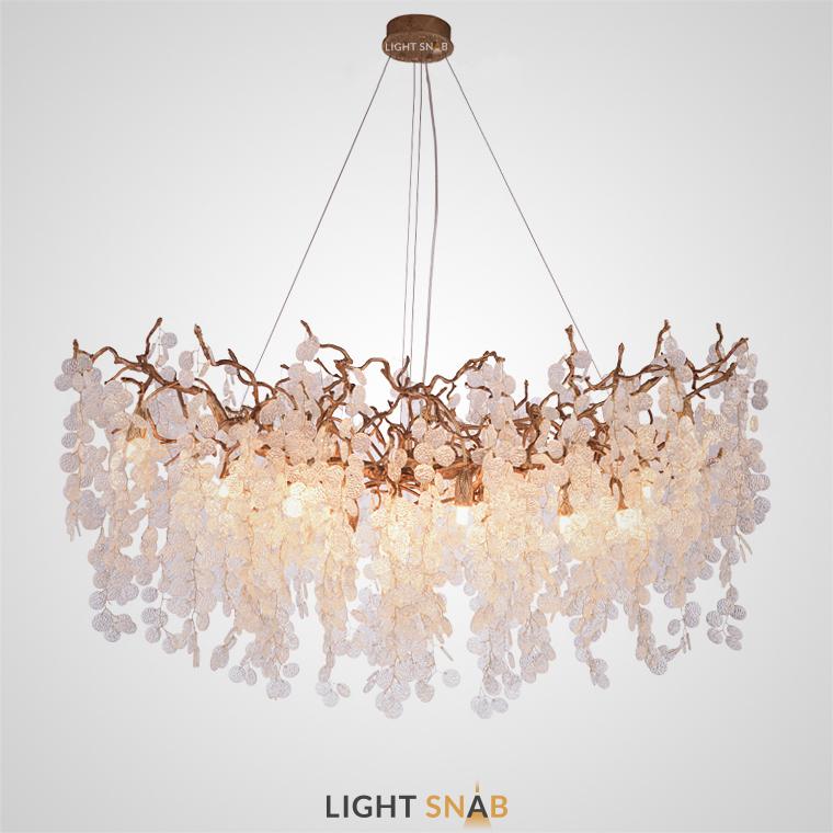 Люстра Fairytree 18 ламп (овальная)