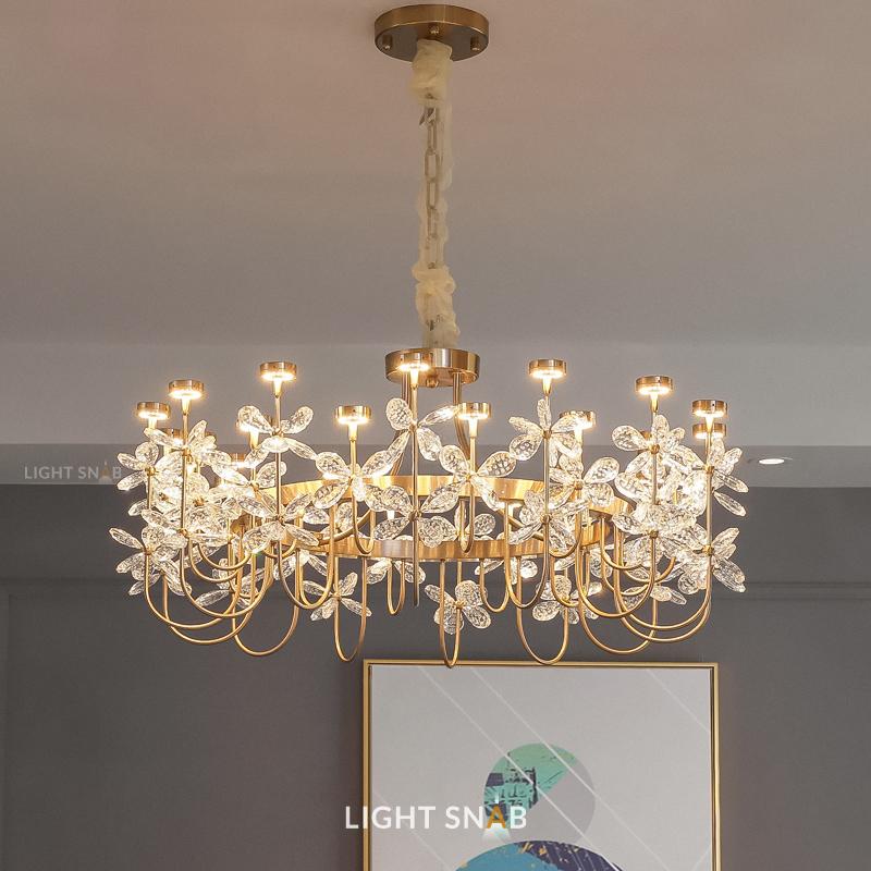 Светодиодная люстра Florinda размер L