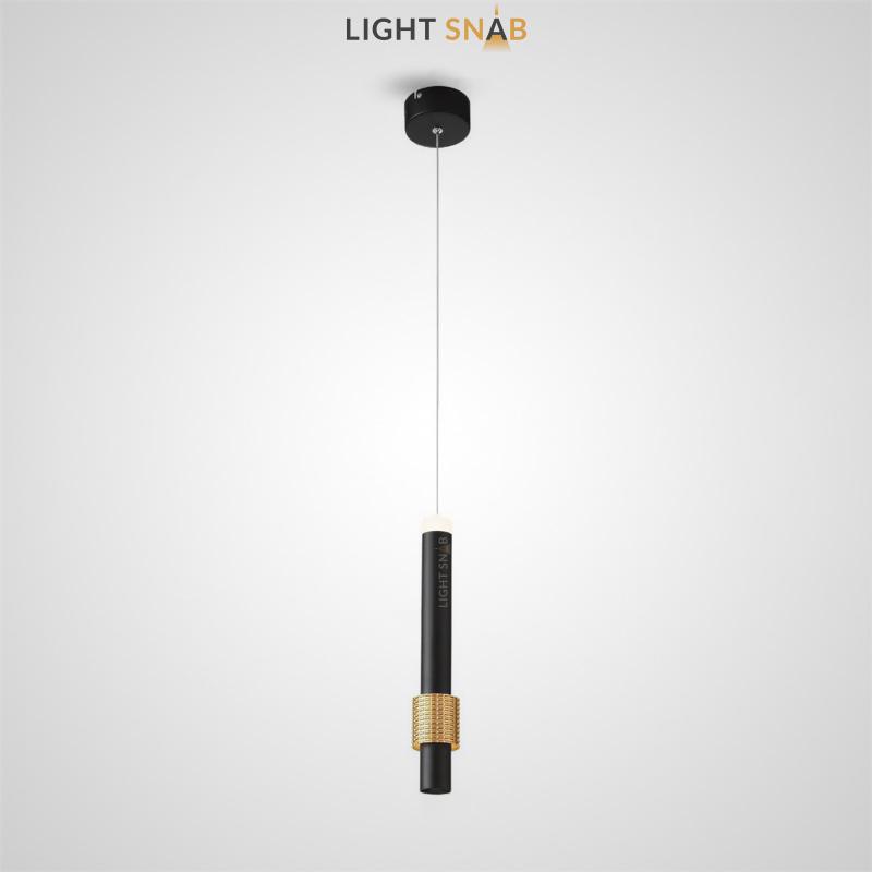 Подвесной светильник Fonarae цвет черный + золото