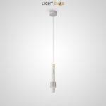 Подвесной светильник Fonarae цвет белый + серебро