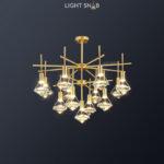Светодиодная люстра Glasgow Ch 13 ламп