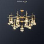 Светодиодная люстра Glasgow Ch 16 ламп