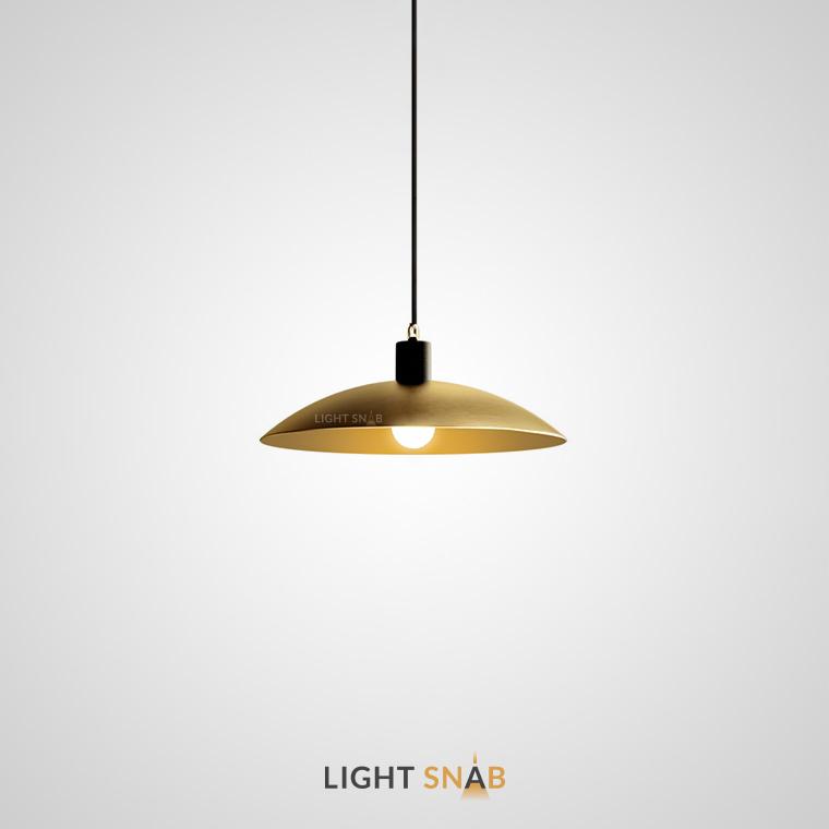Подвесной светильник Golden с металлическим абажуром