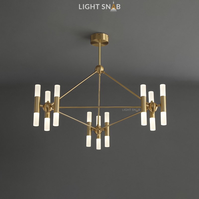 Дизайнерская люстра Graphite 18 ламп